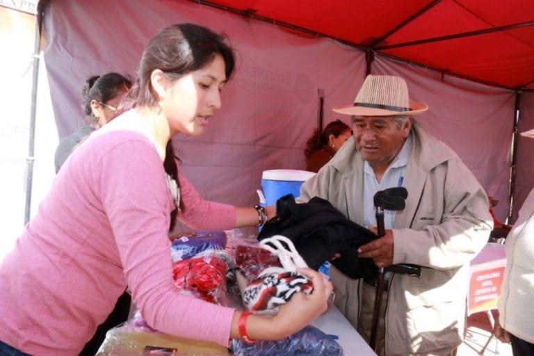 Atención en Salud y campaña contra heladas brindó Southern Peru en Arondaya