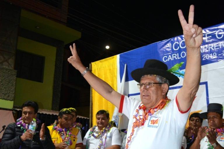 Declaran infundada tacha interpuesta contra Carlos Carrera