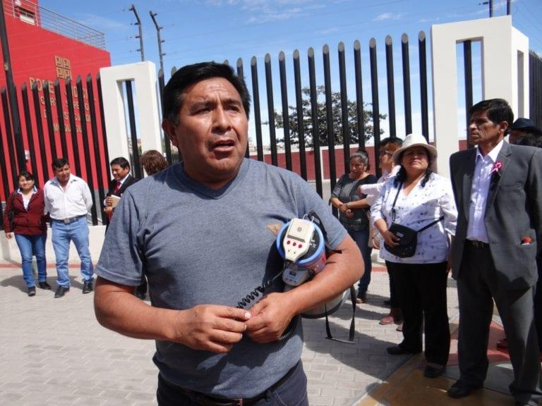 Dirigente del SUTER Moquegua molesto con afiliados