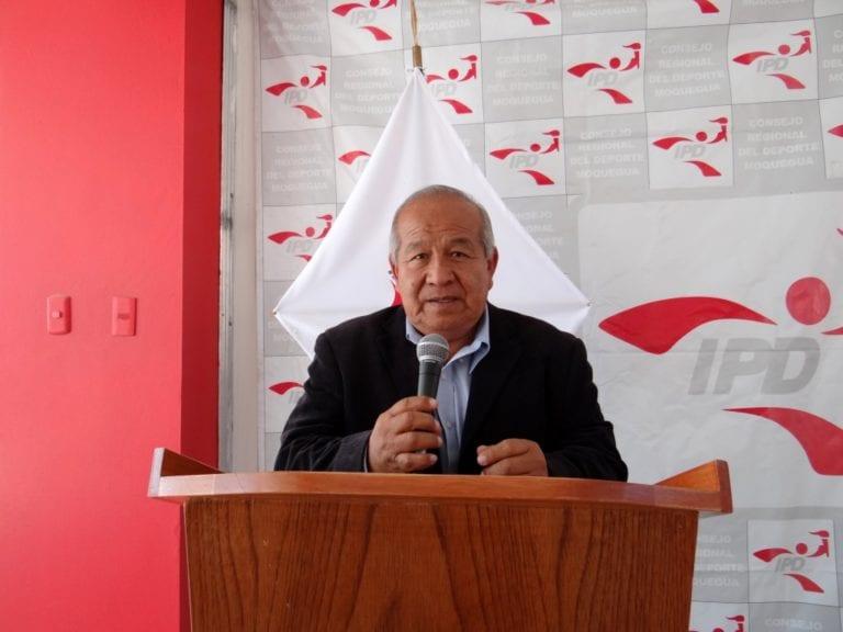 Coordinador del IPD lamenta que el gobierno regional no haya construido un estudio nuevo