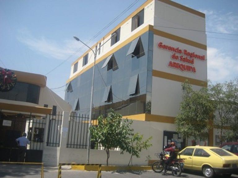 Detectan casos positivos en la Gerencia Regional de Salud de Arequipa
