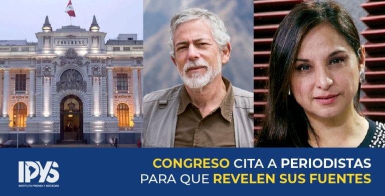 Lo que faltaba: Fujimoristas citan a periodistas Gustavo Gorriti y Rosana Cueva por audios del CNM