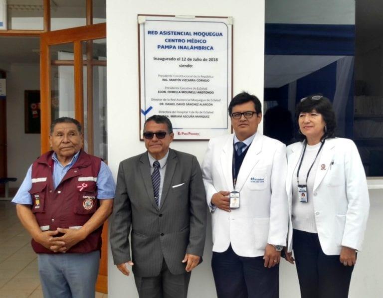 Inauguran Centro Médico de EsSalud en la Pampa Inalámbrica
