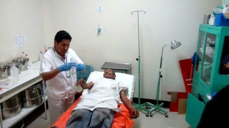 Anciano que sufrió quemaduras en incendio está abandonado en hospital