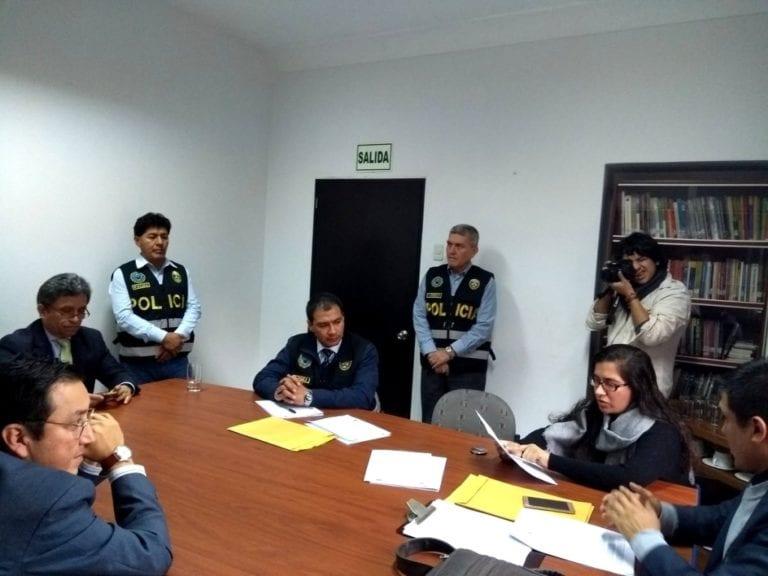Fiscalía realizó diligencia irregular en las oficinas de IDL Reporteros tras audios de consejeros del CNM