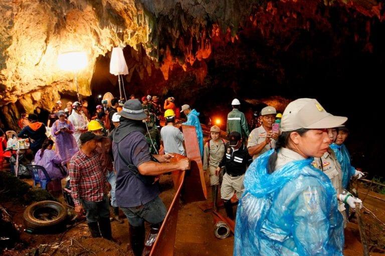 De la cueva hasta la luz: una cronología del rescate de los 12 niños y su entrenador en Tailandia