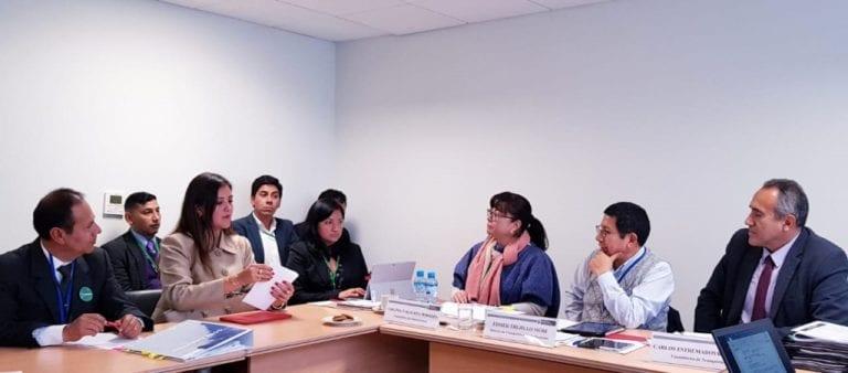 Ministro Edmer Trujillo coordina uso de recursos transferidos por el MTC a gobiernos regionales