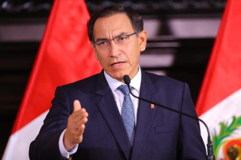 Martín Vizcarra anunció la conformación de una comisión de reforma del Poder Judicial