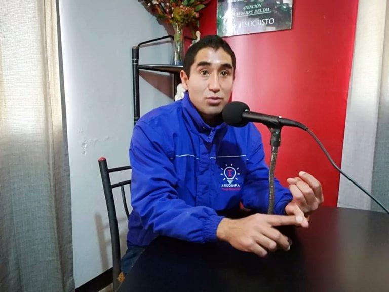 """Edgar Rivera: """"Si se soluciona el problema del agua… van a desaparecer varios dirigentes"""""""