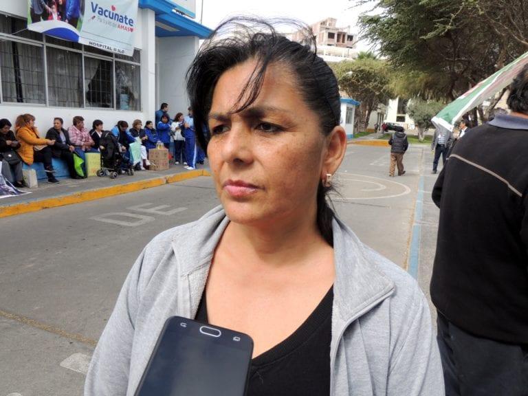 Afiliados al CUT de EsSalud de Ilo y Moquegua inician huelga indefinida