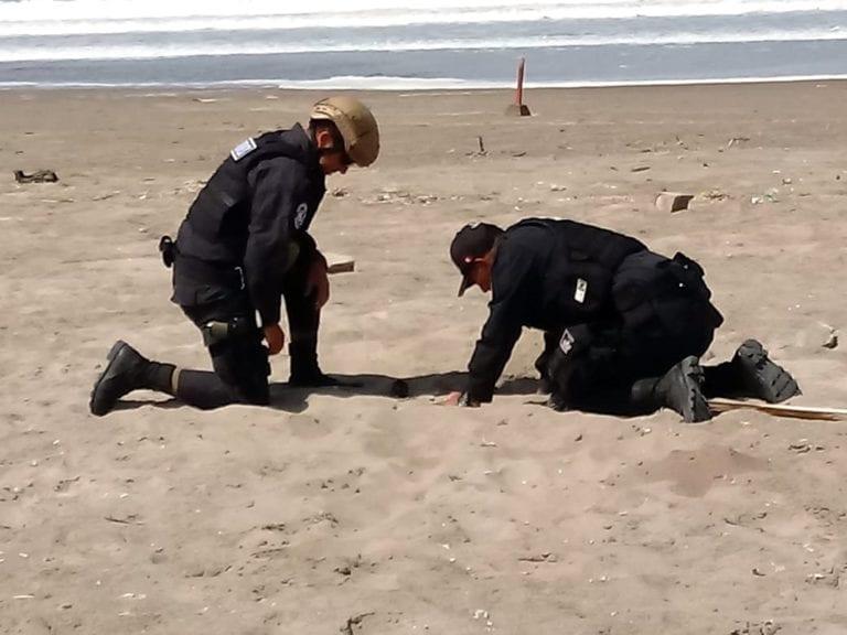 Policía especializada hizo detonar granada hallada en en Miramar