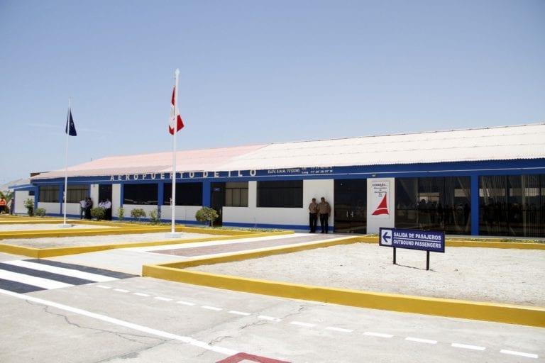 """Aeropuerto de Ilo se llamará """"General Jorge Fernández Maldonado Solari"""""""
