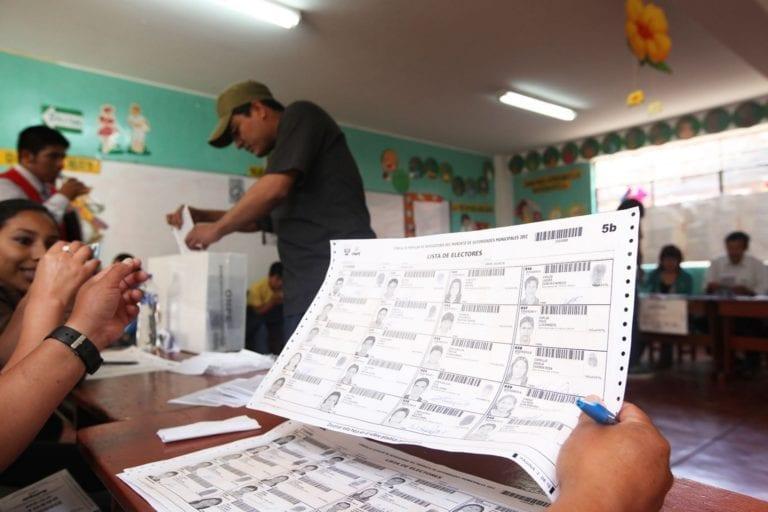 Panorama electoral: más de un millón de electores en Arequipa y 140 mil en Moquegua