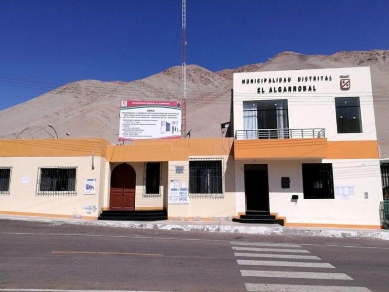 Centro de la Salud de Santa Rosa de El Algarrobal con una serie de carencias
