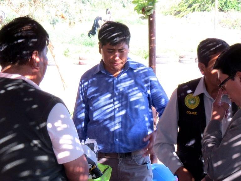 Valeriano Valdivia presenta recurso de apelación ante el Consejo Regional