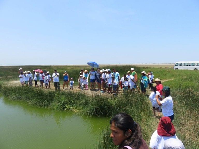 Lagunas de Mejía: se esperan tres mil visitantes en verano