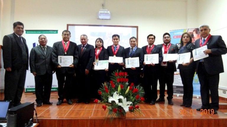 Relación de ganadores del primer congreso internacional de investigación científica