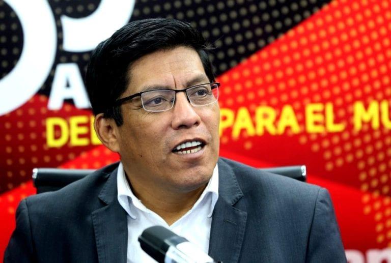 Vicente Zeballos: Se está buscando «desligitimar y desautorizar» a Martín Vizcarra