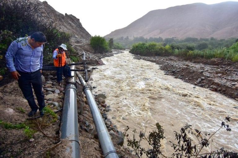 Southern Peru y Municipio de Samegua trabajan para proteger tuberías de aguaafectadas por río Moquegua