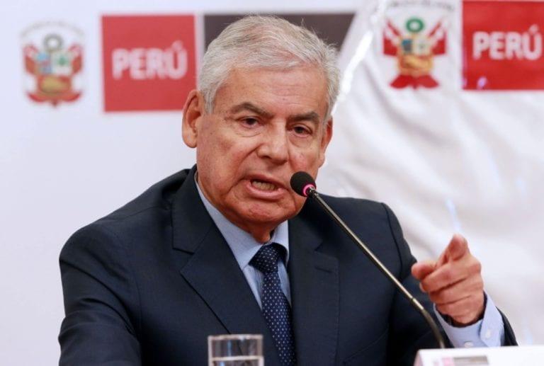 Villanueva sobre su renuncia: «Acepté ayudar por un tiempo y creo que ese tiempo ha llegado»