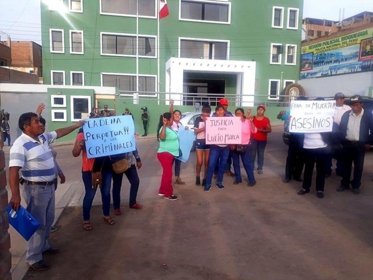 """Presuntos integrantes de """"los malditos del valle de moquegua"""" fueron internados en penal"""