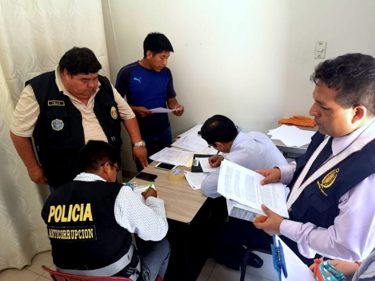 Trabajador de la Subgerencia de Circulación de Moquegua detenido tras allanamiento a escuelas de conductores
