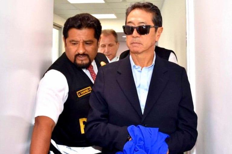 Yoshiyama fue puesto a disposición del INPE para su reclusión en penal