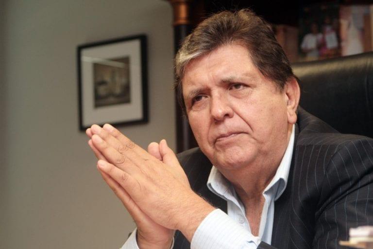 PJ declara improcedente pedido de fiscal Pérez de acceder a información de celulares de Alan García