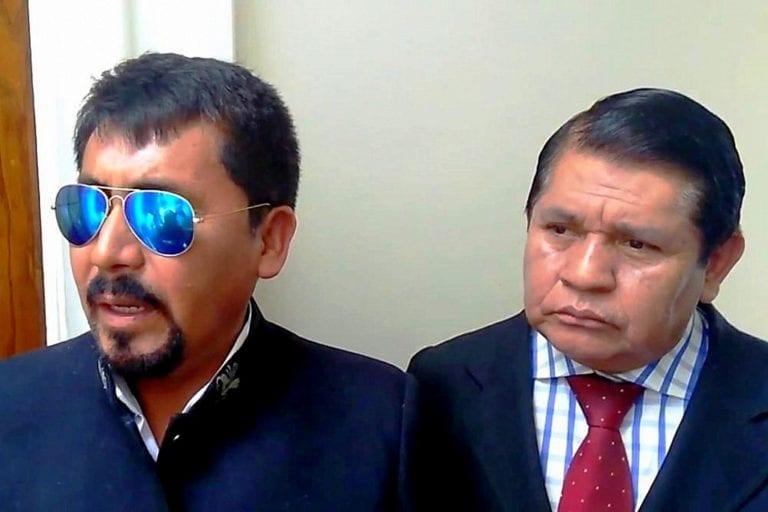 Vicegobernador pide prisión para Elmer Cáceres Llica
