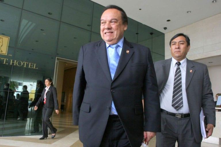 Jorge Barata confirma aportes para campaña del Partido Aprista el 2006