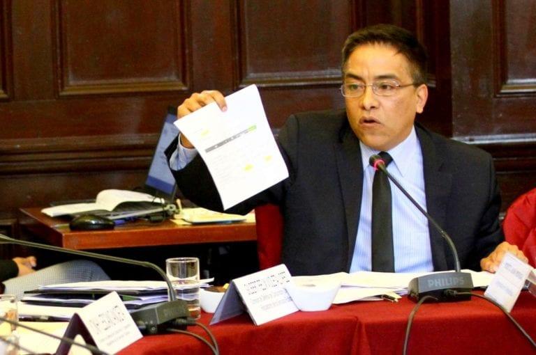 Congresista Vieira intentó modificar su voz en peritaje de Fiscalía tras difusión de audio que lo acusa