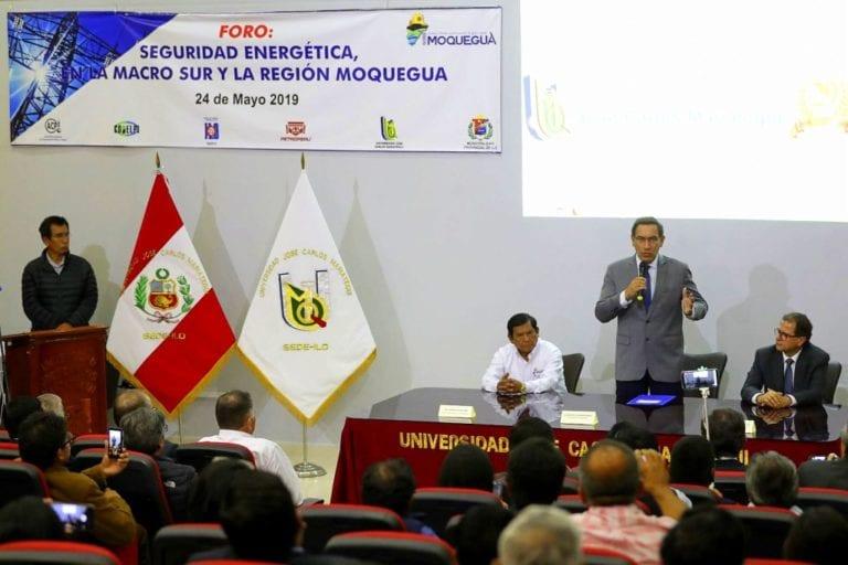 En la memoria del anhelado tema del gas para el sur del Perú