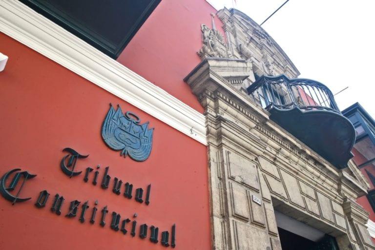 TC declara improcedente demanda competencial sobre vacancia