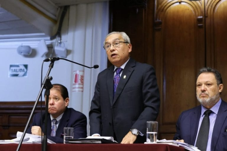 Comisión Permanente ratificó archivamiento de denuncia contra Chávarry por deslacrado de oficinas