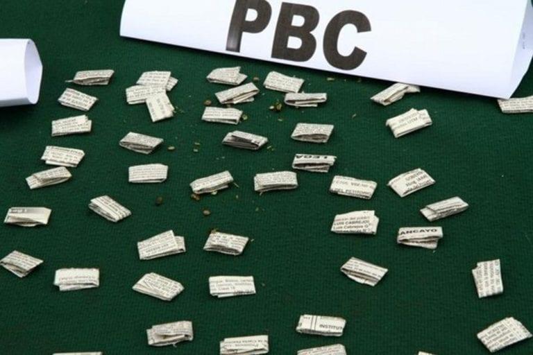Mollendo: Detienen a sujeto con 60 envoltorios de PBC