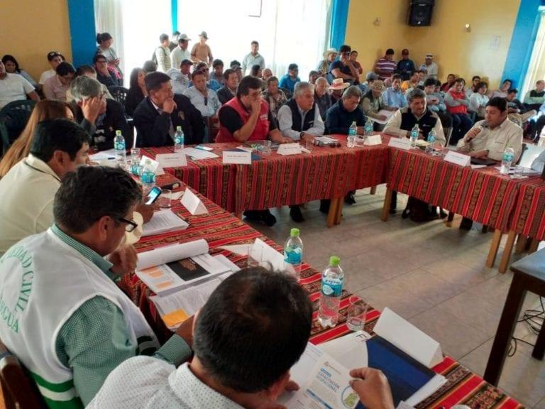 Acuerdan visita al proyecto Quellaveco para el 19 de julio en reunión del Comité de Monitoreo