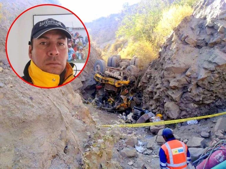Trabajador fallece en fatal accidente en obra de la carretera Omate-Arequipa