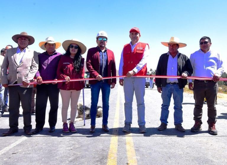 MTC puso en servicio tramo III de la red vial departamental Arequipa – Omate