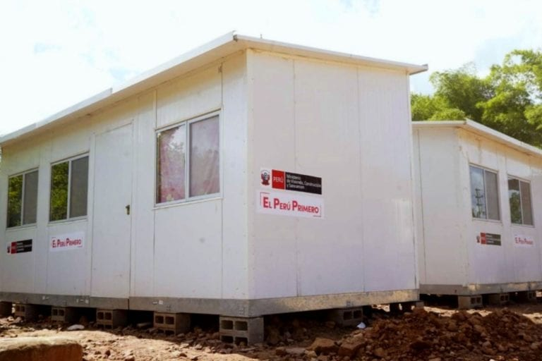 Entregarán viviendas temporales a damnificados por actividad del Ubinas