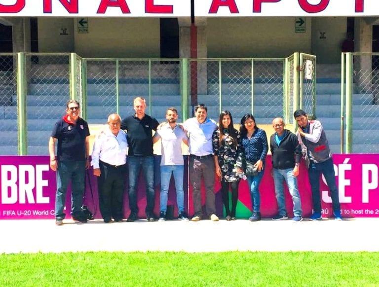Delegación de FIFA llegó a Moquegua evaluar la sede del Mundial Sub 20