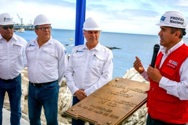 Anuncian firma de contrato para trabajos de rehabilitación del Terminal Portuario de Enapu Ilo