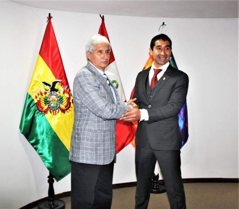 Embajador peruano en Bolivia manifestó su apoyo al turismo y agro exportación de Islay