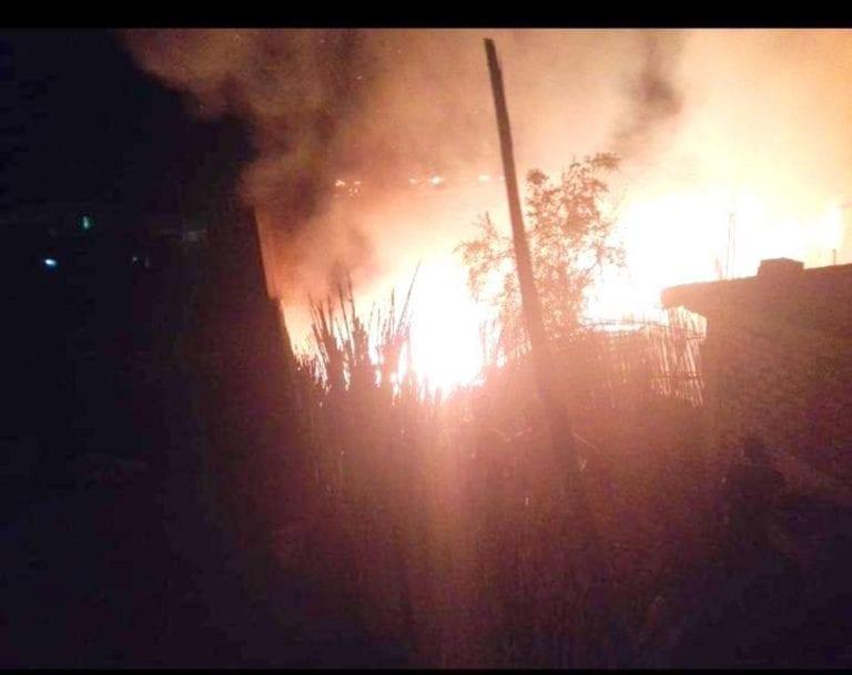 El Arenal: incendio consume vivienda de anciana de 103 años de edad