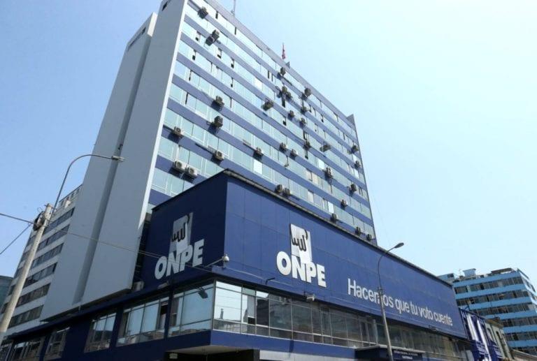 ONPE aprueba más de S/ 7 millones para financiamiento público directo de 9 partidos