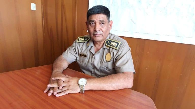 """Jefe de la PNP señala que van a """"tratar"""" de solucionar el problema delincuencial en Ilo"""