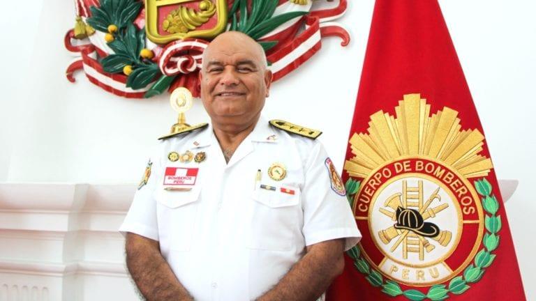 Comandante general de Bomberos pide apoyo a autoridades