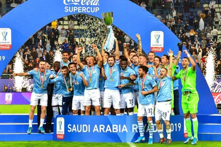 Lazio campeón de la Supercopa de Italia al vencer 3-1 a Juventus