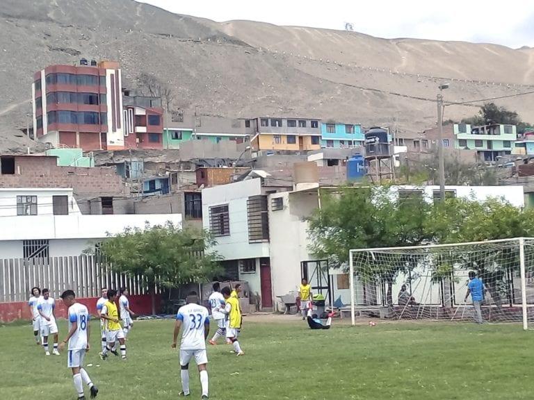 Así va el fútbol en el Garrincha de Miramar