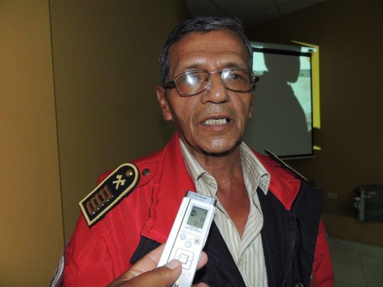 Falleció brigadier comandante de la Compañía de Bomberos de Moquegua