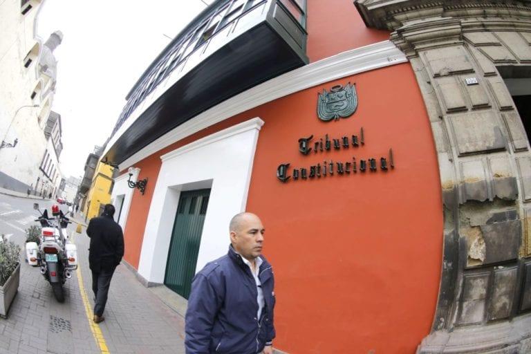 TC dejó al voto demanda competencial sobre vacancia presidencial
